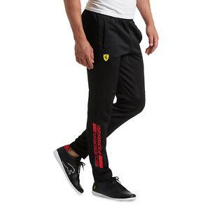da3564b0107c Image is loading Mens-Official-Puma-Ferrari-Track-Pants-Black-NEW-