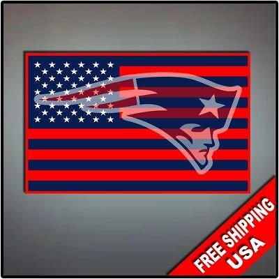 NEW ENGLAND PATRIOTS STICKER WINDOW CAR TRUCK DECAL FOOTBALL NFL BOSTON BRADY
