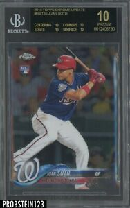 2018-Topps-Chrome-Update-Juan-Soto-Nationals-RC-Rookie-BGS-10-BLACK-LABEL
