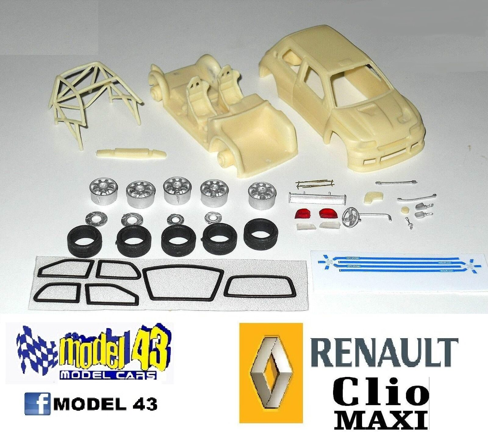 Renault Clio Maxi - ASSEMBLY KIT