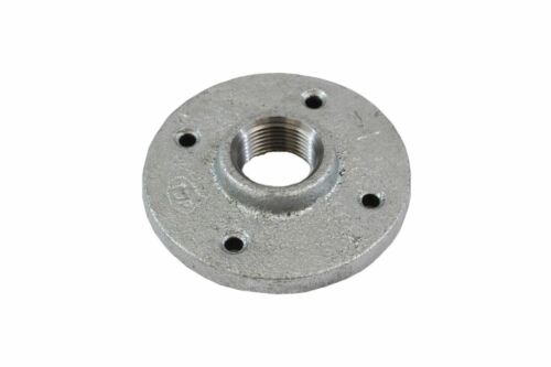 """Threaded Pipe Fittings Galvanized Floor Flange Size 3//4/""""  10pcs"""