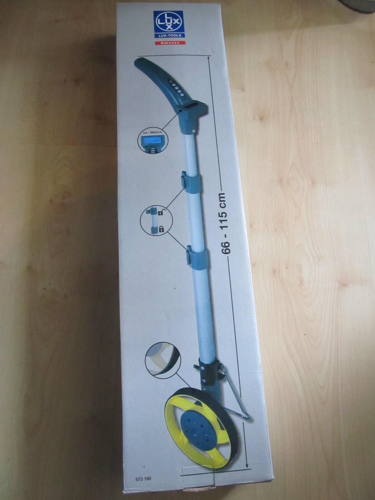 Digitales Messrad mit  Tasche 66 - 115 cm Digital Messrad