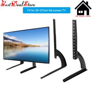 Soportes-de-tv-para-pantallas-planas-parte-superior-de-la-base-de-Mesa-Universal-LED-LCD-Plasma