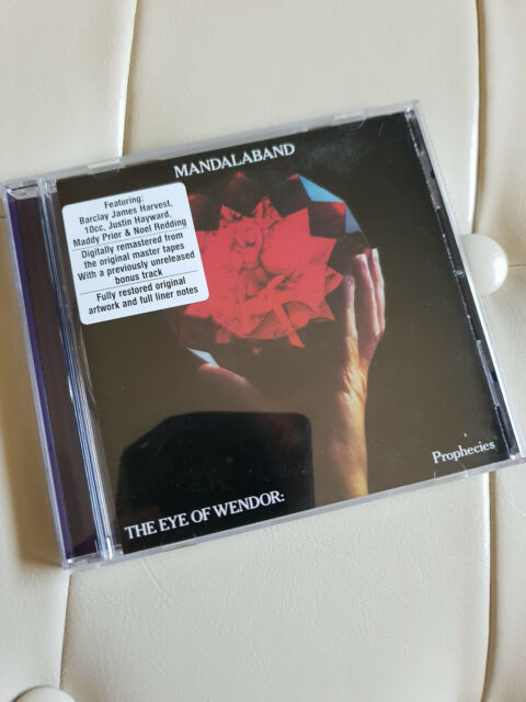 Mandalaband ‎– The Eye Of Wendor: Prophecies RARE RELEASE CD