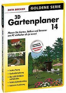 Data Becker 3d Gartenplaner 14 Gunstig Kaufen Ebay