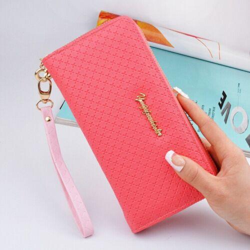 Female Handbag Women Wallets Card Clamps Purse Leather Cash Clip Billfold Purses