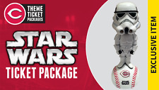 STORMTROOPER Star Wars Cincinnati Reds Bobblehead Bobble Head SGA 5-5-2017 NEW