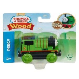 Thomas /& Friends  Wood Train Engine NEW 2018 Percy