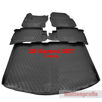 OPPL Fußraumschalen 4-teilig statt Gummimatte für Ford Kuga 2 II SUV 2013