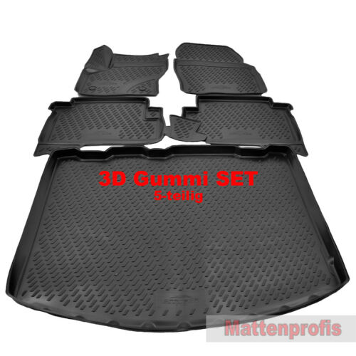 3D Gummimatten Heute Nov Kofferraumwanne SET für Ford Kuga II ab Bj.2013