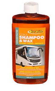 Star brite Citrus Shampoo & Wachs 74616, 500 ml Caravan Boot