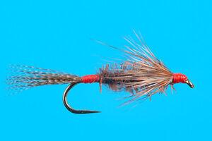 Red Head Damsel, 6 pcs. size 10