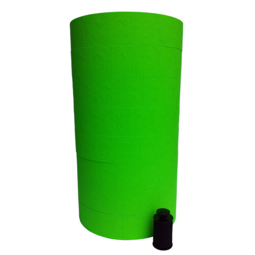 28,000 LABELS FOR THE MONARCH 1136 2 SLEEVES Green