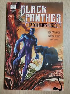 Black Panther: Panther's Prey #1 FN/VF 1991 Marvel Comic