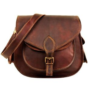 516a77711e83 Image is loading Women-Lady-Genuine-Leather-Crossbody-Bag-Shoulder-Bags-