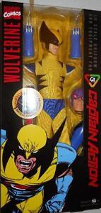 1/6 Scale Round 2 Capitaine Action Wolverine Uniforme En Parfait état, Dans Sa Boîte-afficher Le Titre D'origine 100% D'Origine