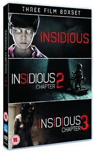 Insidious Triple Pack (Films 1-3) (DVD) 5030305519285