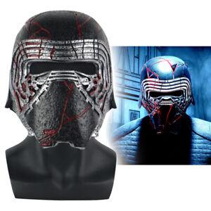 Star Wars 9 The Rise Of Skywalker Kylo Ren Helmet Cosplay Mask Props Hard Pvc Ebay