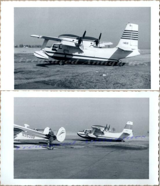 1950s Piaggio P-136-L Royal Gull I-AELO Amphibious Flying Boat Airplane  Photos