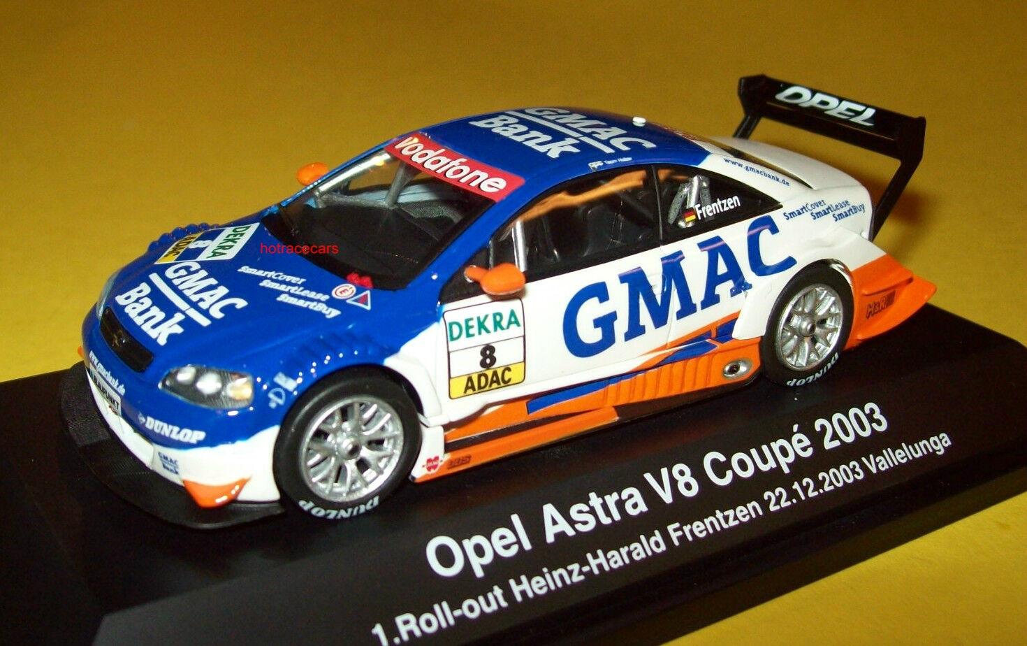 Schuco Opel Astra V8 Coupe 2003 Heinz-Harold Frentzen  8 Team Holzer Vallelunga