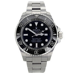 Rolex Deepsea Sea-Dweller 116660 Black Dial Steel Automatic Men's Watch