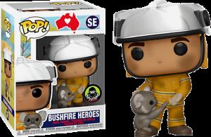 Bushfire Heroes with Koala Bear Funko Pop Popcultcha Exclusive Preorder