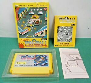 Details about NES -- Super Pinball -- Boxed  popular  Famicom, Japan game   10290