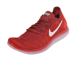 Details about Nike Free RN Flyknit 2017 Men's Running Shoes Red White 880843 600 Size 14