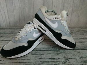 nike air max uk 9 black / gray / white