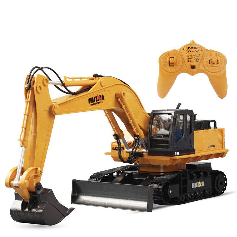 Huina spielzeug 1510 11 kanal 6ch 1   12 rc - bagger ferngesteuerte spielzeug mit