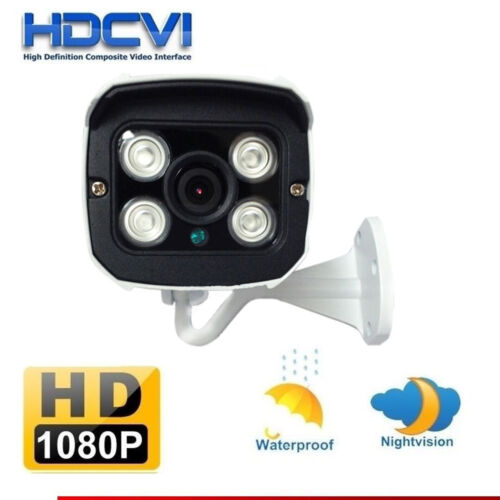 HD-CVI 2MP HD 1080P IR Cut Waterproof Bullet CVI Security CCTV Camera System