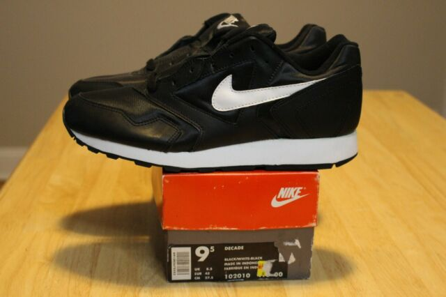 Nike Decade Heaven\u0027s Gate Vintage 1993 Original Black White 102010 400 Size  9.5