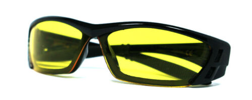 3 Pair Combo Choppers Motorcycle Sunglasses Smoke Yellow Clear Mirror Lens C46