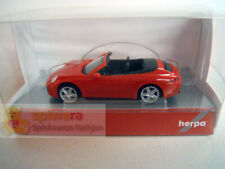 Herpa 028844  Porsche 911 Carrera 2 Cabrio  indischrot 1:87 H0 NEU in OVP