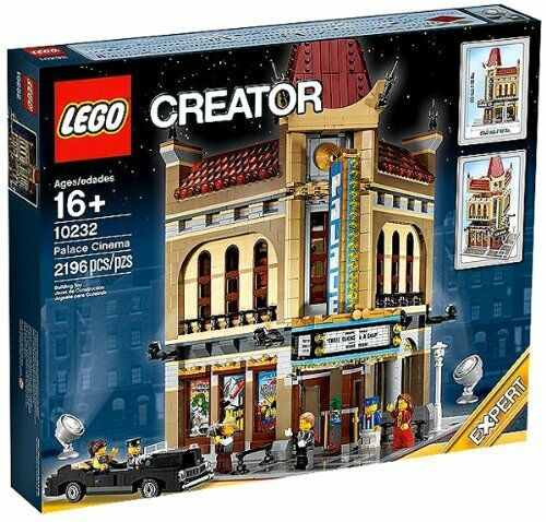 LEGO 10232 Palace Cinema, Modular Building, CREATOR EXPERT, New, Sealed Box