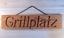 Indexbild 2 - Grillplatz - Holzschild Dekoschild mit gefräster Gravur - Douglasie massiv - NEU