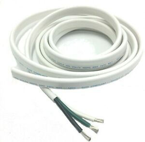 12//3 AWG Triplex Tinned Marine Wire Black//Green//White 250 Feet