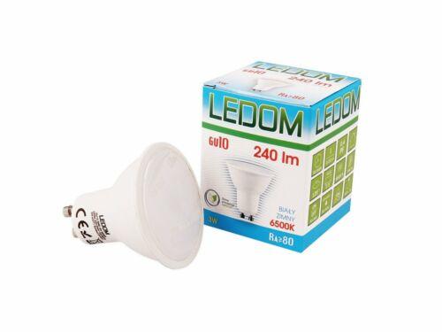 3W GU10 LED Birne Strahler SPOT Lampes Leuchte Warmweiß 3000K//Kaltweiß 6000K