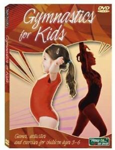 GYMNASTICS-for-KIDS-DVD-Instructional-Video-Fun-games-amp-activitities-Brand-New