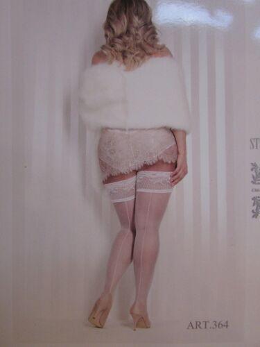 White or Black Ballerina  Hold Ups sizes XL,XXL