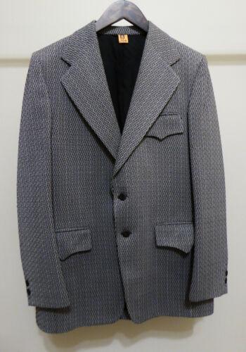 Vintage Mens Western Suit Jacket Sportsjacket Sz M