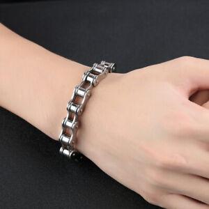 Fashion-Men-Stainless-Steel-Motorcycle-Bike-Chain-Bracelet-Bangle-Jewelry-G-NTAT