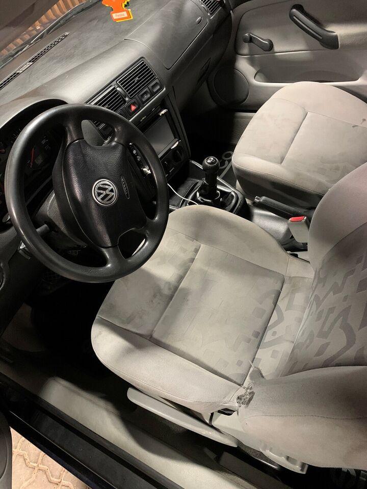 VW Golf IV, 1,4, Benzin