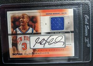 2004-SKYBOX-AUTOGRAPHICS-STEPHON-MARBURY-AUTOGRAPH-JERSEY-CARD-NEW-YORK-KNICKS