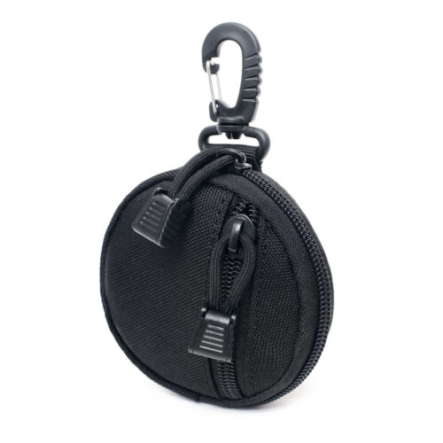 Tactical Military Key Bag Coin Purse Mini Molle Pouch Outdoor EDC Belt Pack Bags
