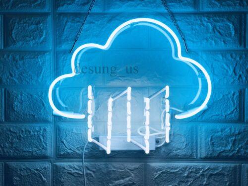 New Cloud Rain Neon Sign Wall Decor Artwork Light Lamp Display Party