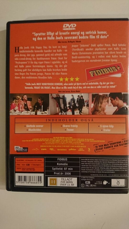 FIDIBUS, instruktør Helle Joof, DVD