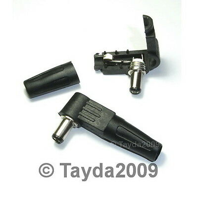 3 x DC Power Plug Right Angle 2.1mm x 5.5mm x 9.5mm - FREE SHIPPING