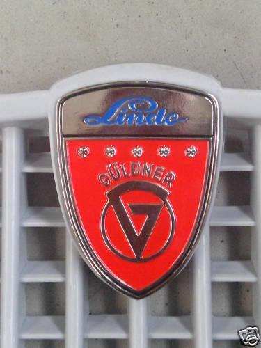 Güldner Emblem Firmenzeichen für Frontgitter NEU