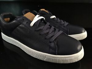 online store cf636 7e18f RARE UNDFTD UNDEFEATED PUMA CLYDE X STRIPE OFF NAVY LEATHER ...